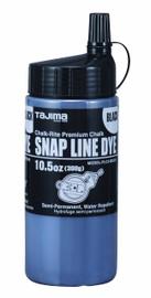 Tajima PLC3-BK300 - Chalk-Rite 10.5-Ounce Snap Line Black Powder Dye