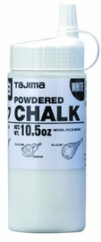 Tajima PLC2-W300 - White Ultra Fine Snap Line Chalk, with easy fill nozzle 10.5 oz.