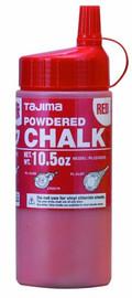 Tajima PLC2-R300 - Red Ultra Fine Snap Line Chalk, with easy fill nozzle 10.5 oz.