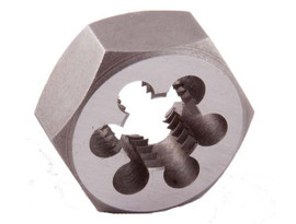 Champion -  CS30M10X1.25 Metric Carbon Steel Hexagon Rethreading Dies - CS30M-10X1.25