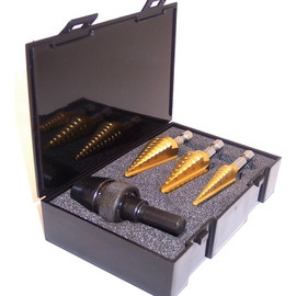 Champion -  Hex Shank Multi Step Drill Set - MSD-HEX-SET