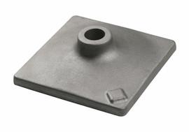 """Bosch HS2124 - 1-1/8"""" Hex Hammer Steel 6"""" x 6"""" Tamper Plate"""