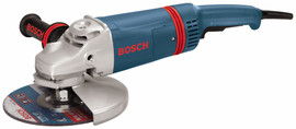 Bosch 1893-6 - 9 In. 15 A Large Angle Grinder with Rat Tail Handle