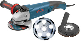 Bosch 18SG-5K - 5 In. Angle Grinder with Concrete Cutting Kit