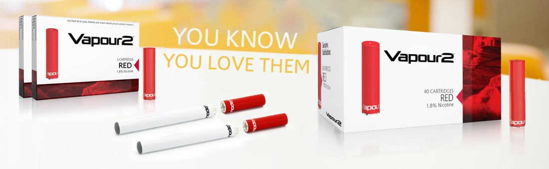 V2 Classic Cartridge e-cigarettes