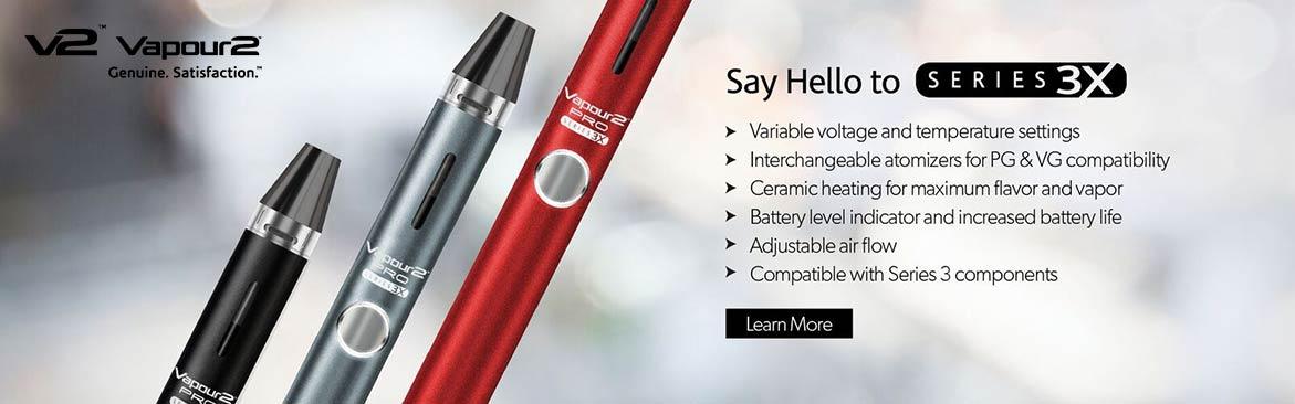 Vapour2 Pro Series 3X vaporizer