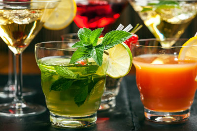 Summer vaping cocktails