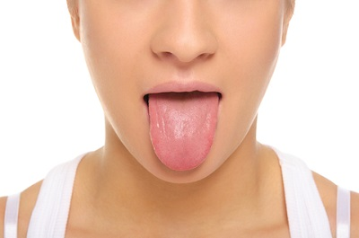 womans tongue