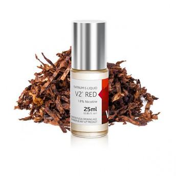 V2 Vapour2 Platinum E Liquid 0% Nicotine 25ML