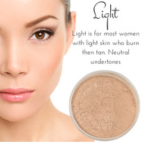 Light - Full Coverage Matte Mineral Foundation | Titanium-Free