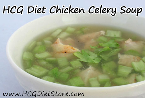 If your starting to get sick on HCG... make this homemade HCG chicken soup recipe to help get better!