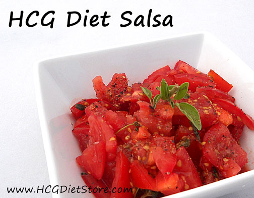 Salsa for the HCG Diet!!! Wow - so glad to have found this HCG recipe!