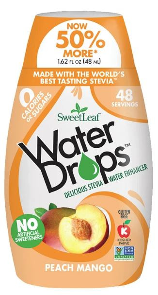 Peach Mango SweetLeaf Water Drops