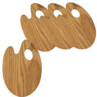 Forestique Red Oak Palette Serving Board Set