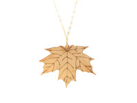 Sugar Maple Pendant - Natural