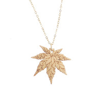 Japanese Maple Pendant - Natural