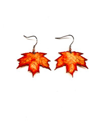 Sugar Maple Earrings - Autumn(NEW) Free Gift Box & Shipping Month Of December