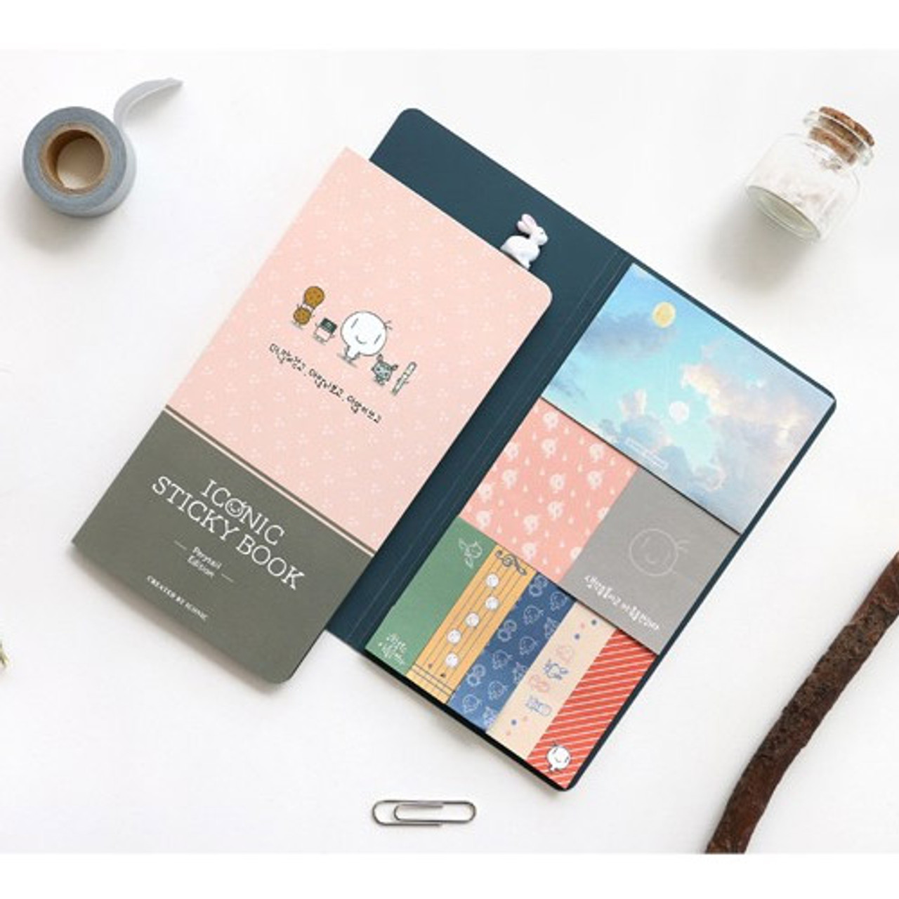 Iconic Perytale Sticky Book With Different Designed Sticky