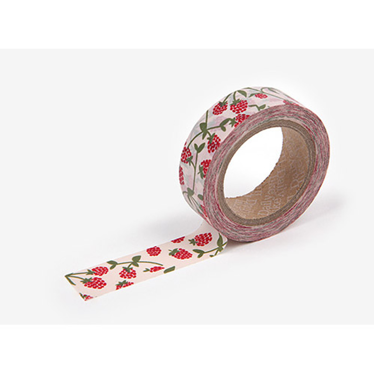 dailylike deco masking tape single raspberry. Black Bedroom Furniture Sets. Home Design Ideas