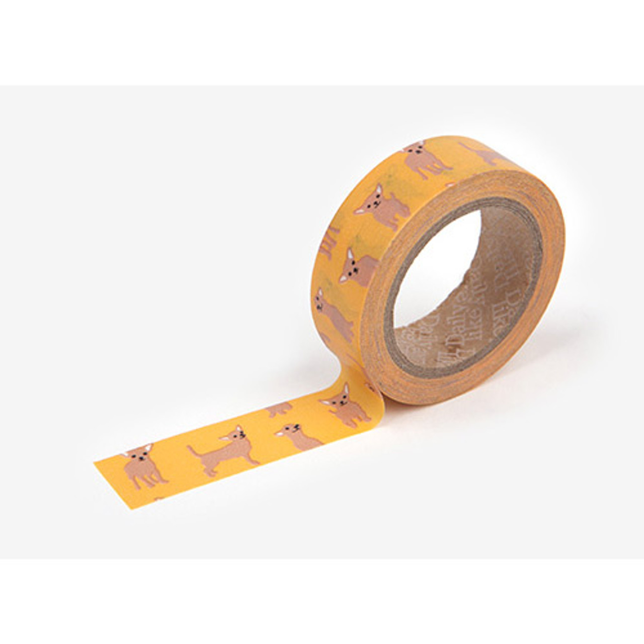 Dailylike deco masking tape single chihuahua - Idee deco masking tape ...