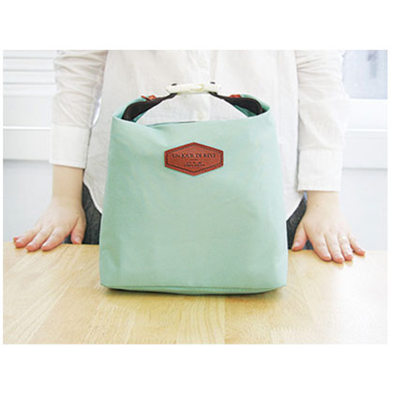 Iconic Insulated Lunch Bag Tote Pouch With Handle Mint