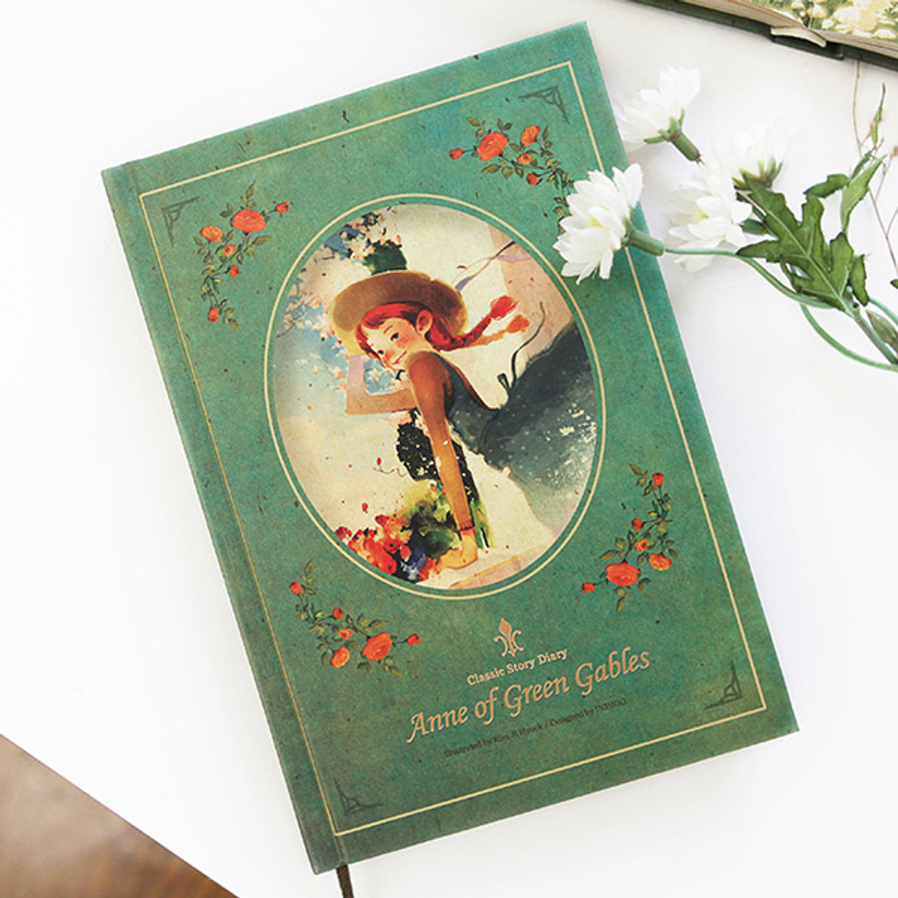 Indigo anne of green gables daily undated diary fallindesign for Anne of green gables crafts