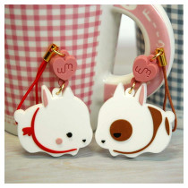 Rabbit phone strap