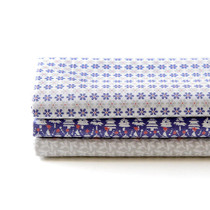 Quarter cotton fabric pack - snow bell