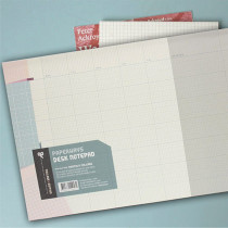 Desk notepad - Monthly collage