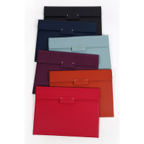 Grand classy leather multi pocket file folder