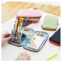 Folding pencil case pouch ver.2