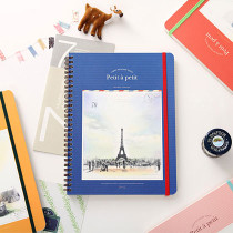 Petit grid lined notebook