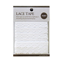 Adhesive cotton lace tape M - 01