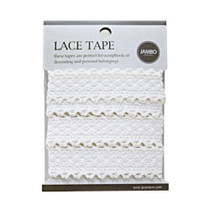 Adhesive cotton lace tape M beige - 05