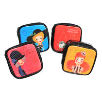 Mini cosmetic makeup pouch