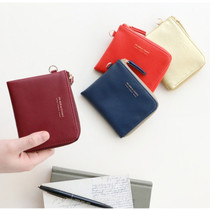 Un jour de chance half zip around wallet