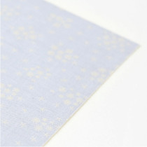 Fabric sticker - snorkeling glitter