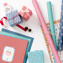 Scandinavia pattern wrapping paper pack (B)