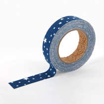 Deco fabric tape single - camping starry