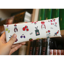 Odong et valerie pastel folding pencil case with fruit