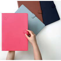Smiley basic A4 file folder synthetic leather case