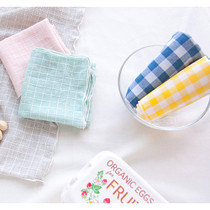 Check pattern cotton handkerchief hankie