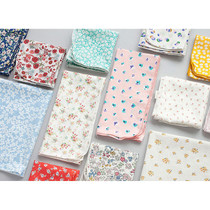 Flower pattern cotton handkerchief hankie