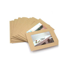 4X6 Kraft paper photo frame set of 30 sheets