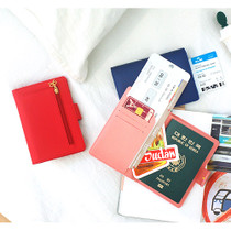 Lovelyborn RFID blocking travel passport wallet