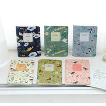 Willow story illustration mini lined note