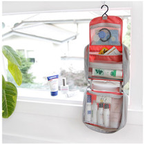 Travel hanging toiletries organizer bag