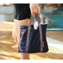 Navy - Travelus lightweight water resistant tote bag