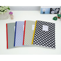 Pattern A5 lined notebook