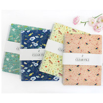 Willow story 20 clear pockets document file holder